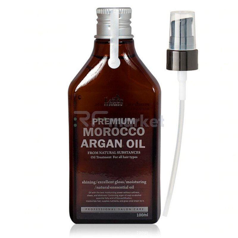 Масло для волос аргановое. Premium Morocco Argan Hair Oil 100 мл.LADOR Co. Ltd.