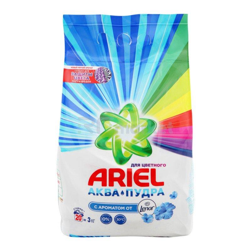 Стиральный порошок Ariel Touch of Lenor Fresh автомат 3 кг
