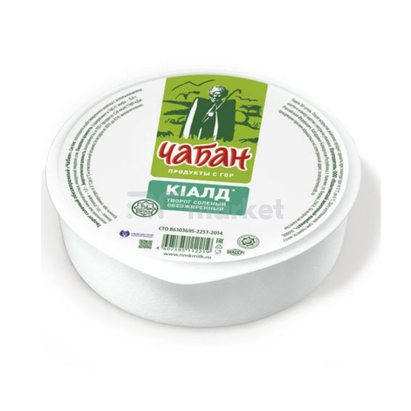 "Творог ""Чабан"" 0%, 500 г"