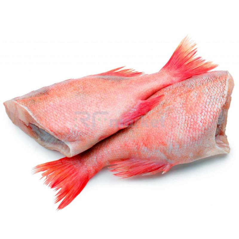 Окунь морской, свежемороженый, потрошеный, 300-500 гр.
