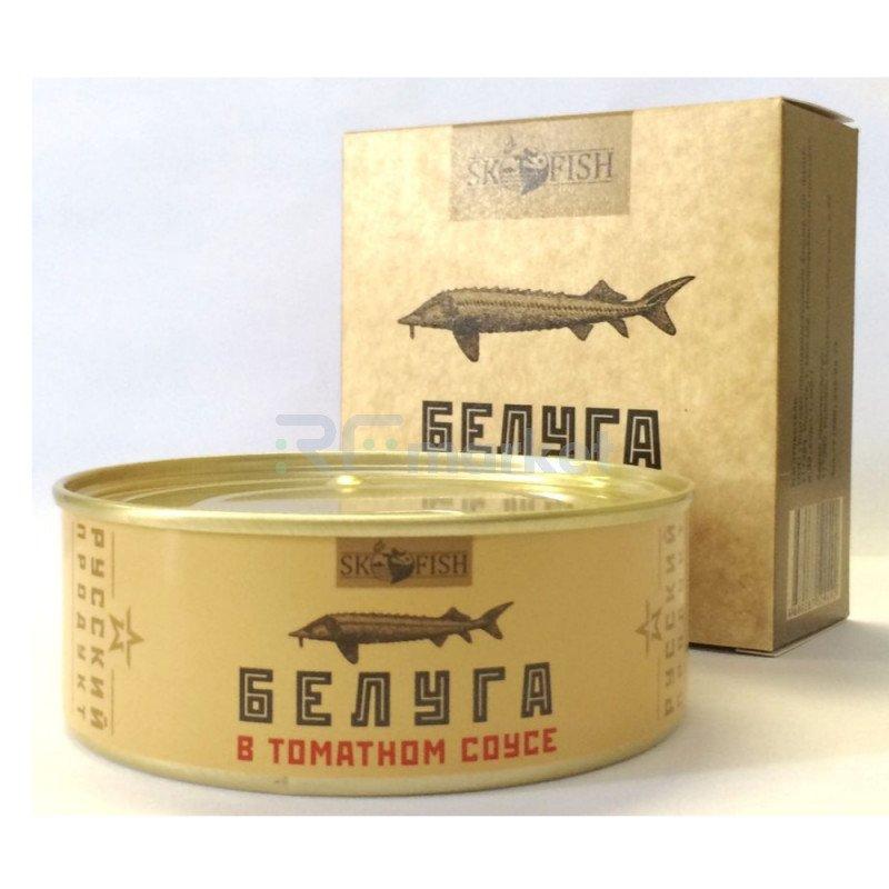 "Белуга в томатном соусе ""ЭКО"",  240 гр."