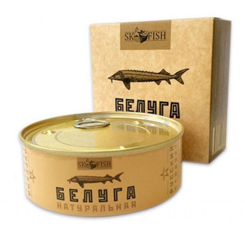 """Белуга натуральная  """"ЭКО"""",  240 гр."""