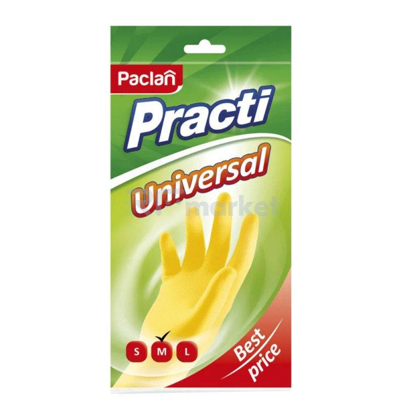 """Перчатки хозяйственные """"Paclan"""", резиновые, размер (M)"""