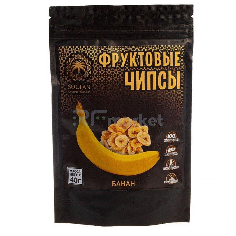 Фруктовые чипсы - Банан