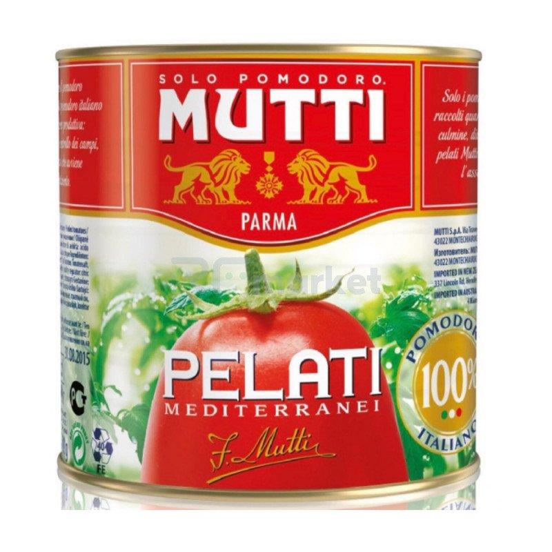 """Томаты целые, очищенные в собственном соку """"Mutti"""", 2,5 кг"""
