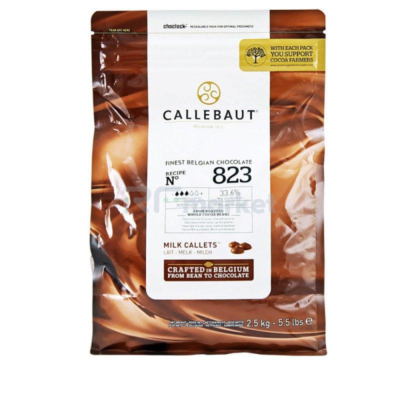 "Шоколад Молочный 33,6% ""Callebaut"" (Бельгия), 1000 гр."