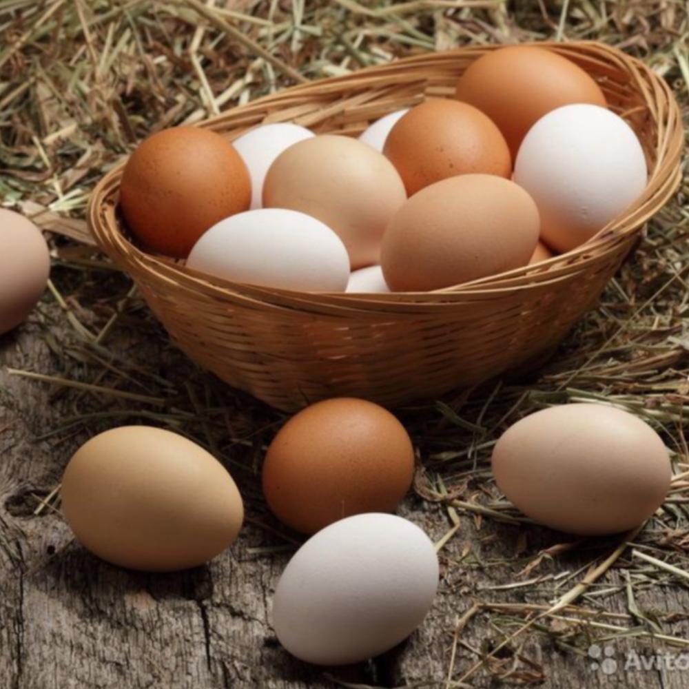 Яйцо куриное, фермерское